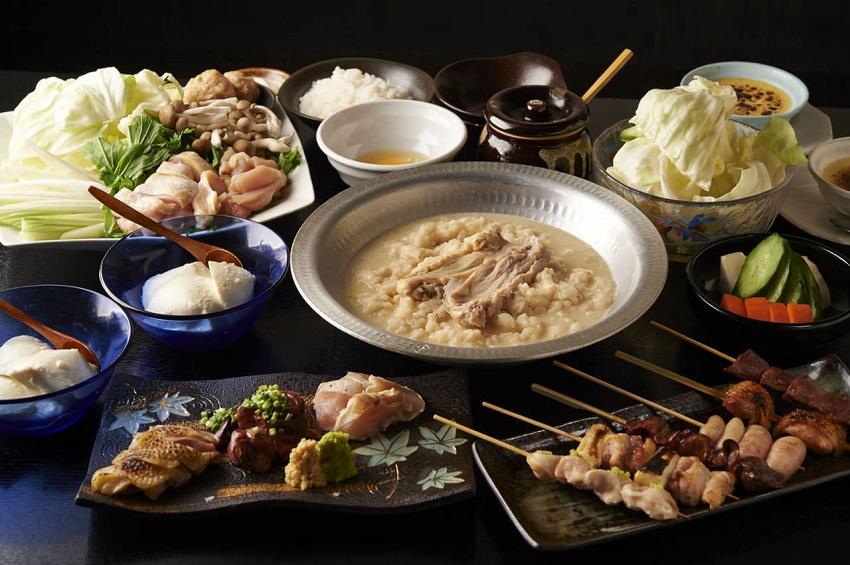 新宿にある鶏料理専門の居酒屋「とりいちず」のメニュー